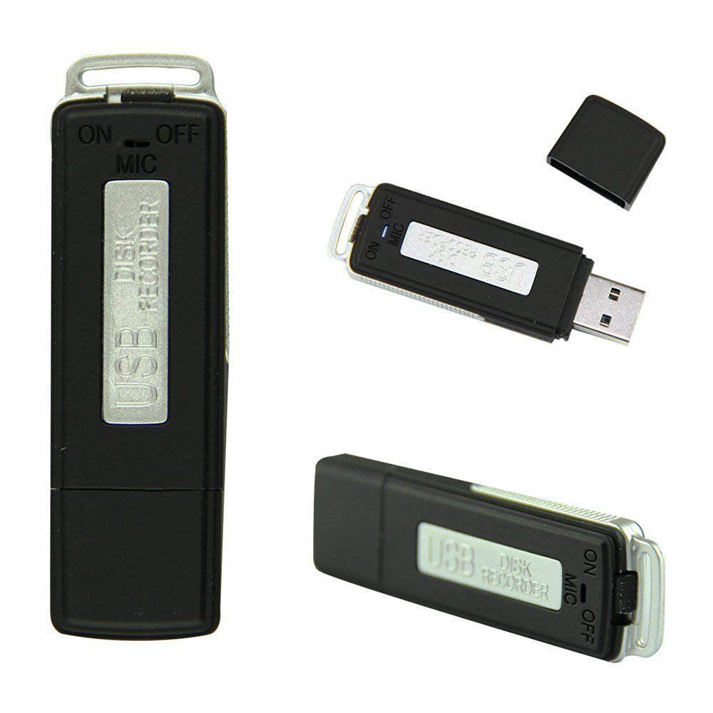 8GB ذاكرة USB تسجيل صوتي - قابلة للشحن مسجل الصوت الرقمي - الذاكرة Stick- الإبهام Drive- Dictaphone- 8GB- بندريف PQ131