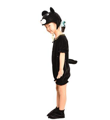 2018 New style children Cosplay Black and white bears Red kangaroo Animal perform clothing Boys and girls Dance Conjoined clothes ERF10-35