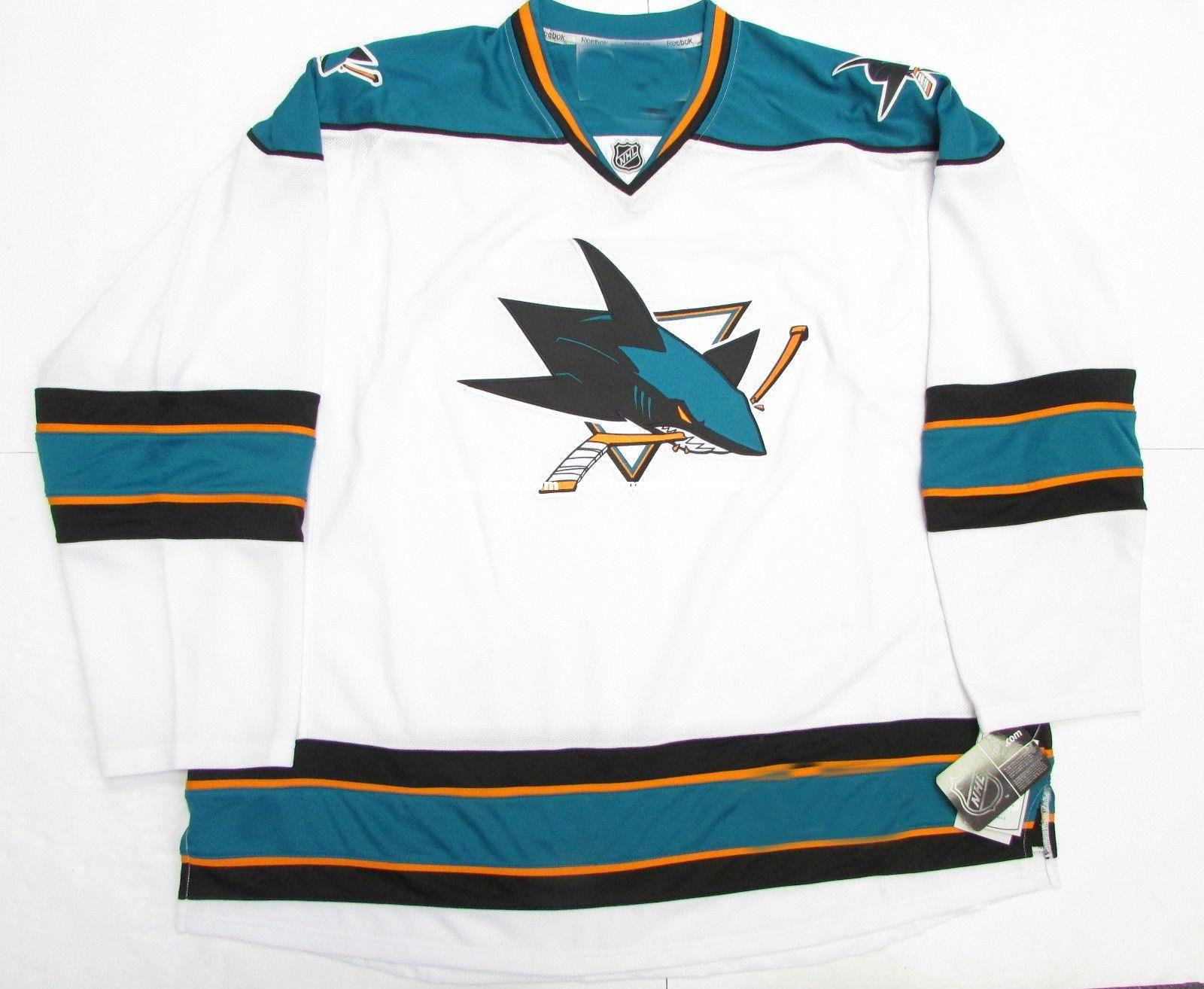 ... ireland 2019 cheap custom san jose sharks away white premier hockey  jersey stitch add any number 9d4290e36