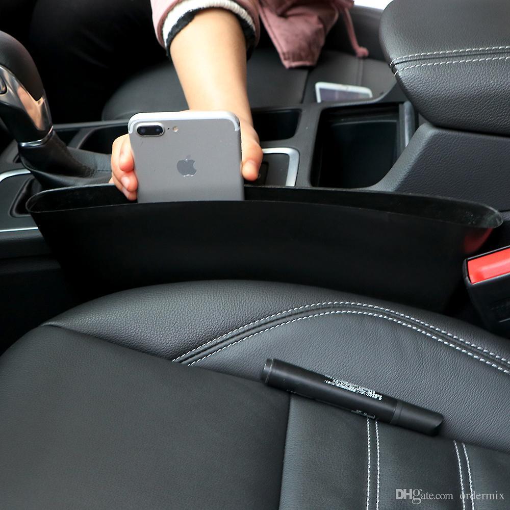 Auto Car Seat Gap Pocket Catcher Organizer Leak Proof Storage Box New Organizador De Asiento Trasero EA10572 Back