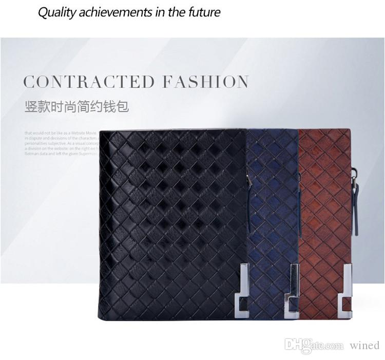 2018 New Women's Men's Popular famous designer brand high-grade wallet lady fashion long zipper hand bag manufacturers selling high qualit