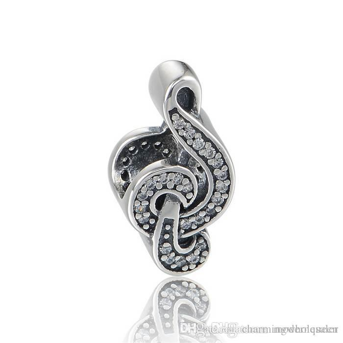 e22cc6d6f18f ... discount code for 2018 sweet music charms s925 sterling silver fits  pandora style bracelets musical note