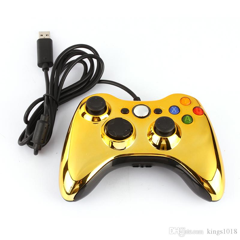 Original Bling USB Wired Gamepad Game Pad Joystick Joypad Controller for PC For MICROSOFT Xbox 360
