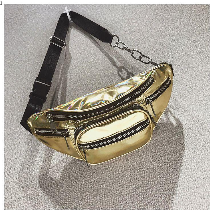 e84b3dedb734 Luxury PU Leather Women Waist Bags New Fashion Waist Packs Women ...