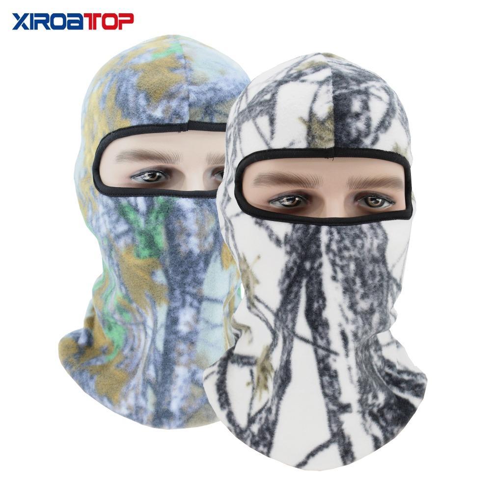 e272d8703 XIROATOP Face Mask Winter Fleece Warm Face Cover Anti-dust Windproof Ski  Mask Snowboard Hood Anti-dust Bike CS headgear hat cap