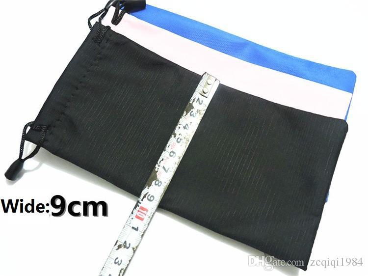 En Kaliteli Mix Renkler Plastik Güneş Gözlüğü Kılıfı Yumuşak Gözlük Çanta Gözlük Telefonu çanta İpli Güneş Gözlüğü Kılıfları