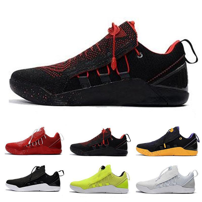 half off bf07e 2282b Acheter Nike Air KOBE A.D NXT HMD 2018 Haute Qualité KB 11 Elite Hommes  Occasionnels Chaussures De Marche En Plein Air Kobe 11 Red Horse Oreo  Chaussure KB ...