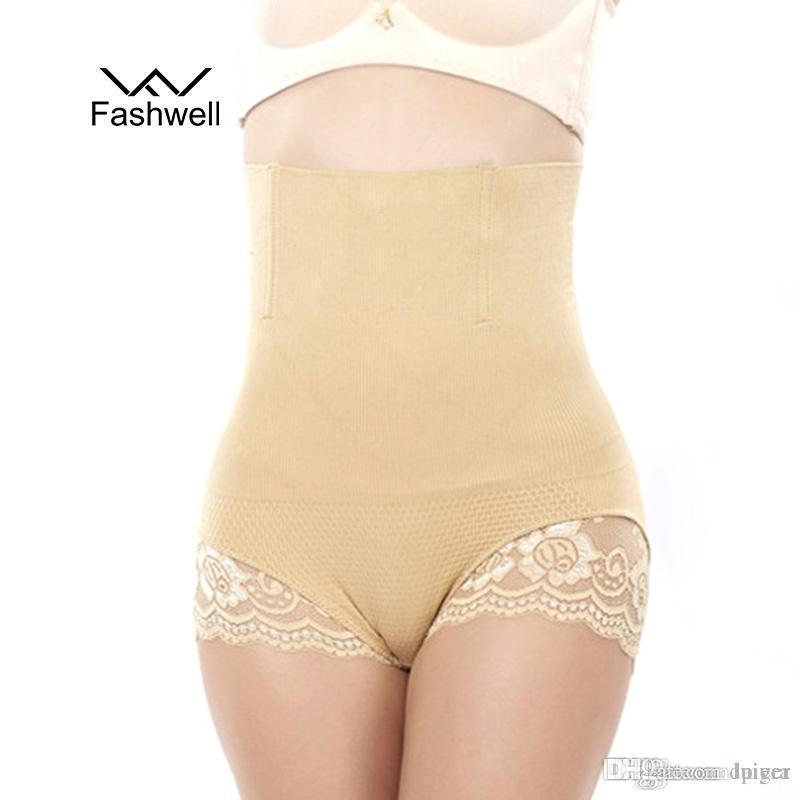 791af9279 2019 Wholesale Hot Body Shaper Women Lace Seamless Control Panties  Underwear High Waist Style Corsets Waist Cincher Body Shaper Panty From  Luiyer