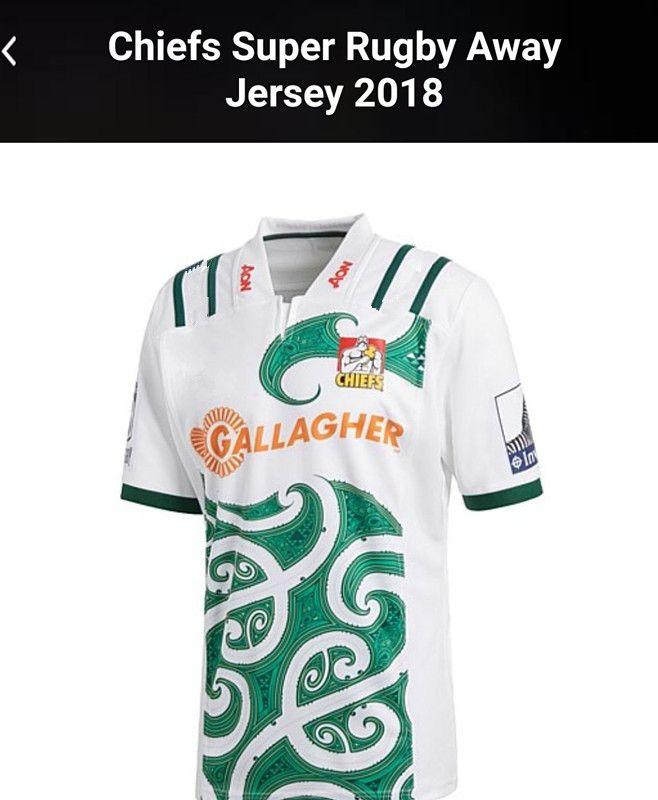 2018 Chiefs Super Rugby Home Jersey New Zealand Highlanders rugby jerseys blue chiefs football shirts size S-M-L-XL-XXL- 3XL