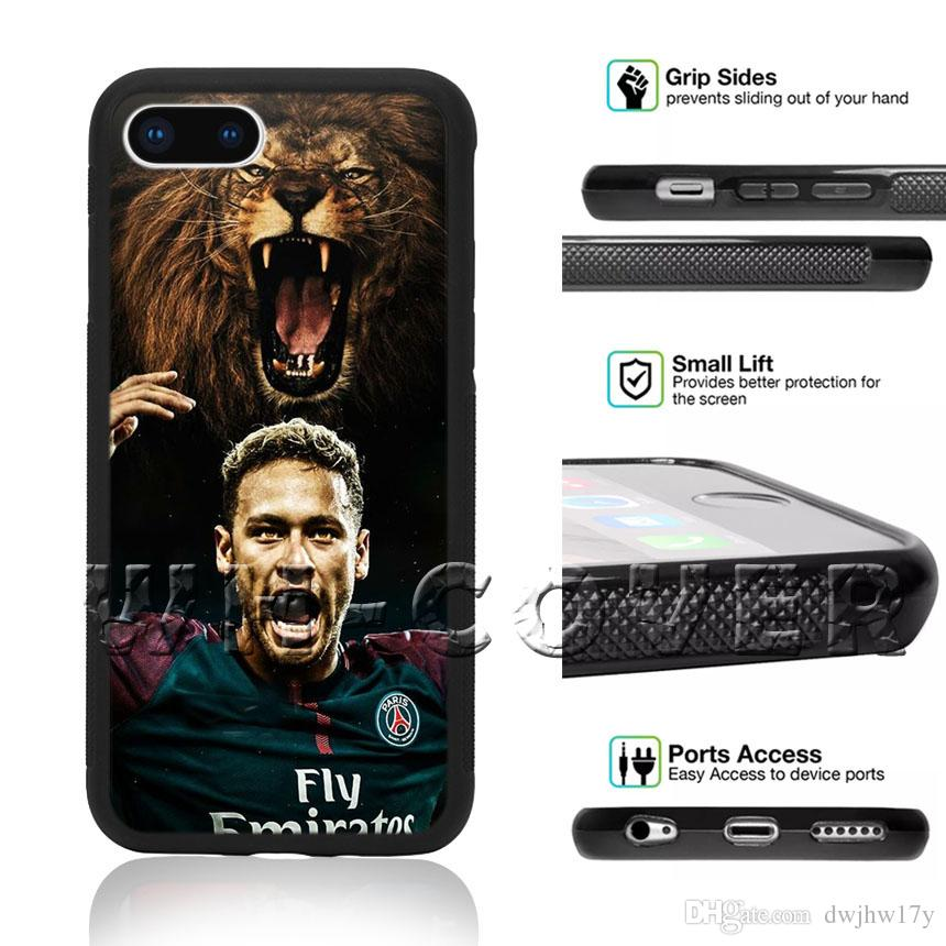 a8ddf9d5fb9 Neymar Jr Paris Saint Germain Brazil 33 Phone Case For iPhone Samsung  Galaxy XS MAX XR i8Plus i7 i7+ i6 i6s SE T6 Note4 Cover