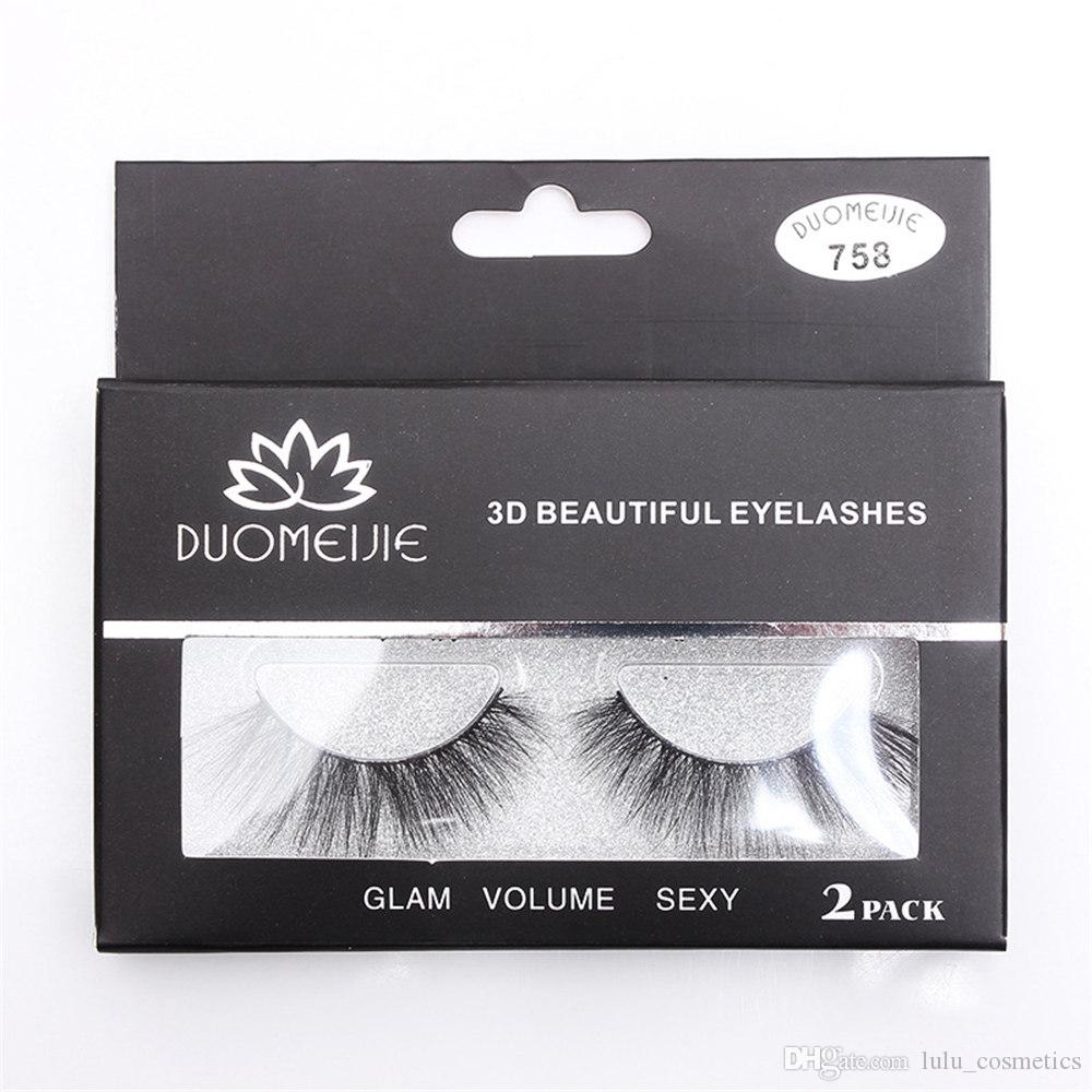 False Eyelashes 6 Pairs Handmade Fake Lashes Soft Natural Long Eye Lashes Extension Makeup Wholesale And To Have A Long Life. Beauty Essentials