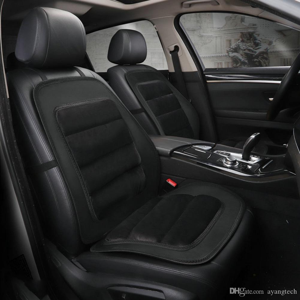 Quality Plush Leather Car Seat Cushion Cover Warm Winter T Universal Size Front Truck SUV RV Auto Accessories