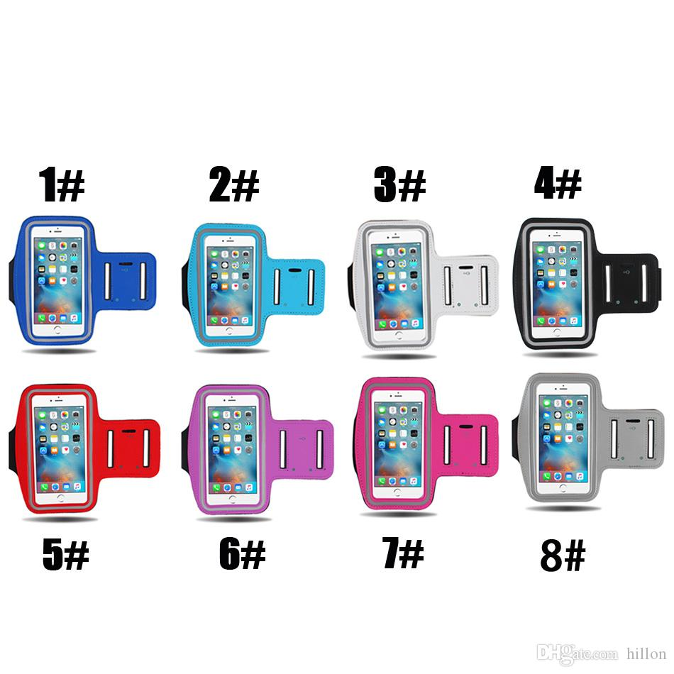 Para iphone x braçadeira universal esportes à prova d 'água correndo case bag braçadeiras de treino titular bolsa para samsung celular telefone móvel