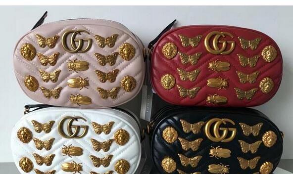 8a56bdfbc1ef 2019 AA Famous Brand Designer Women Luxury Bags Lady PU Leather ...