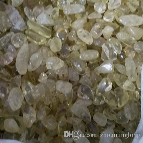 100 г цитрин кварцевый гравий Кристалл бонсай танк камень украшают детрит исцеление минеральный массаж грубый рейки щебень энергии сырья украсить Макадам