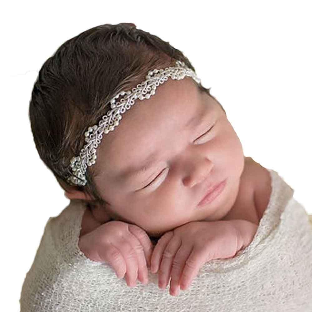 5a60b451c0332 Acheter Mode Infantile Bébé Enfants Filles Bandeau De Luxe Perle ...