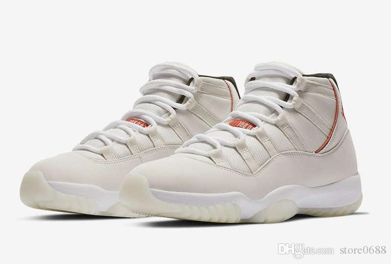 2f3c336e8 ... canada compre envío gratis 2019 air jordan 11 platinum tint sail university  zapatos de baloncesto rojos