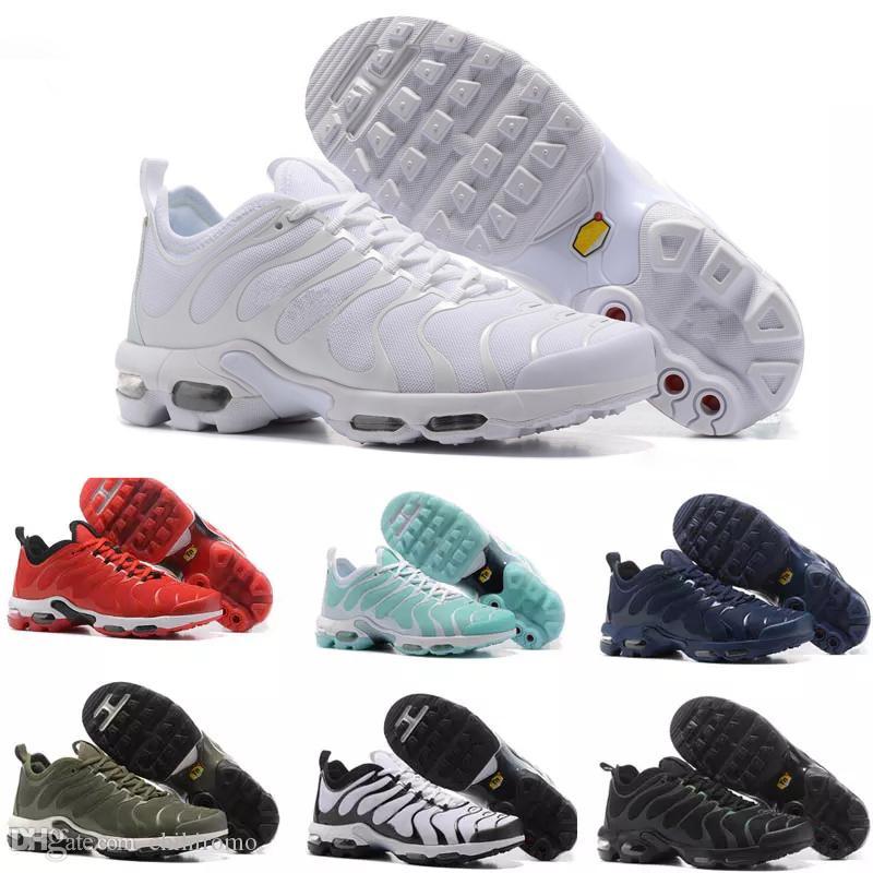 103eba35de Acquista Nike Air Max TN Plus Vapormax Airmax 2018 Hot Men TN Scarpe Tns  Plus Air Fashion Ventilazione Aumentata Casual Scarpe Da Ginnastica Olive  Rosso Blu ...