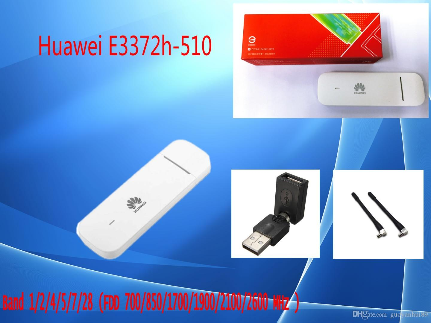 Huawei E3372h-510 LTE Band 1/2/4/5/7/28 FDD700/850/1700/1900/2100/2600MHz  4G Modem