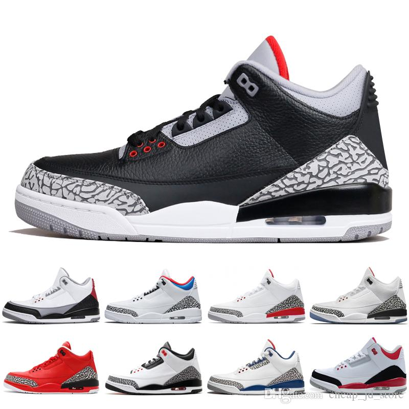 5ef2f992deed 2019 Mens Basketball Shoes Black White Cement Free Throw Line JTH NRG Tinker  Hartfield Infrared 23 Sport True Blue Men Trainers III Sneakers Sneakers For  ...