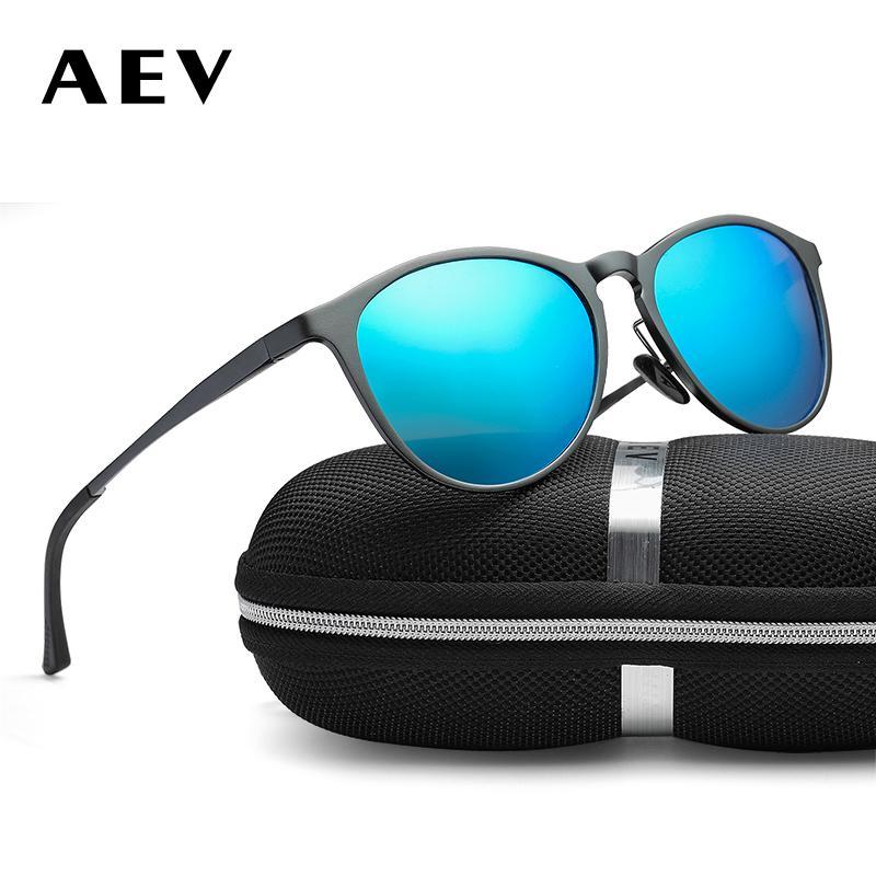 Compre Aev Unisex Retro Alumínio Magnésio Quadro Óculos De Sol Da Marca  Lente Polarizada Óculos Vintage Acessórios Óculos De Sol Para Mulheres Dos Homens  De ... e179799037