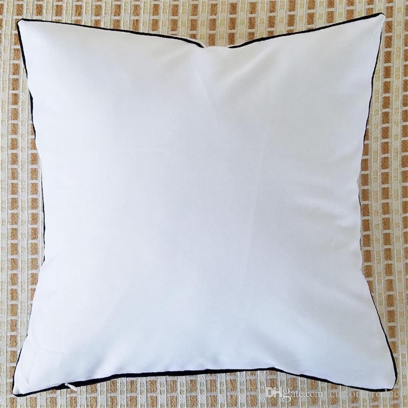 승화 옥스포드 베개 열 전송 인쇄에 대 한 빈 베개 케이스 DIY 개인화 된 맞춤 된 선물 wholesales 7colours