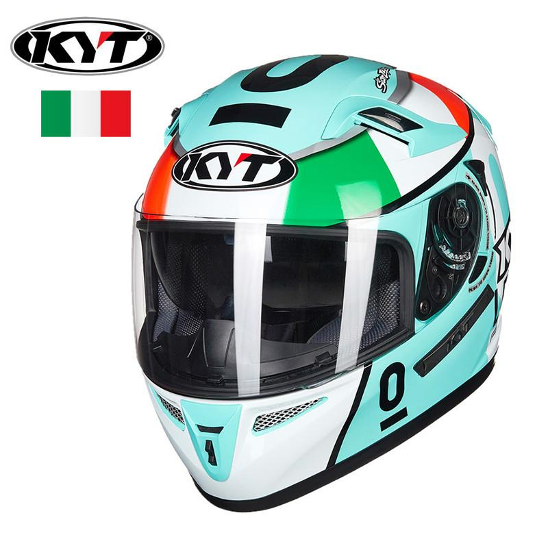 e035591b KYT Falcon Espargaro Race Replica Motorcycle Helmet Motogp Racing Helmets  Casque Dual Lens Visors Moto Casco For LEOPARD Latest Motorcycle Helmets ...
