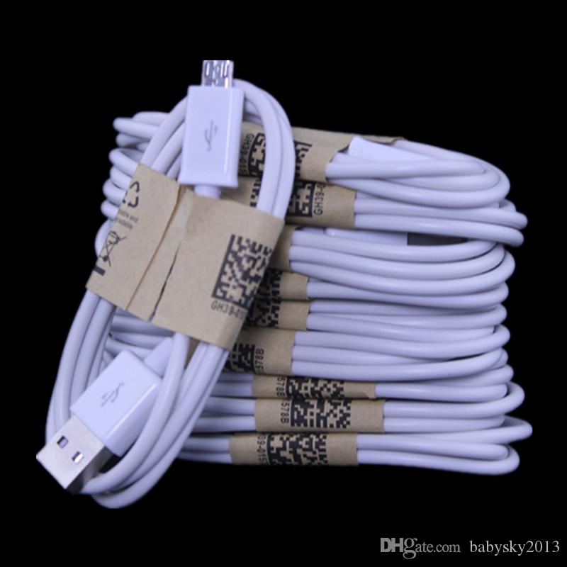 3 피트 마이크로 USB 충전기 케이블 전선 삼성 갤럭시 S3 S4 S6 S7 에지 주 2 4 htc의 LG 전자의 안드로이드 전화