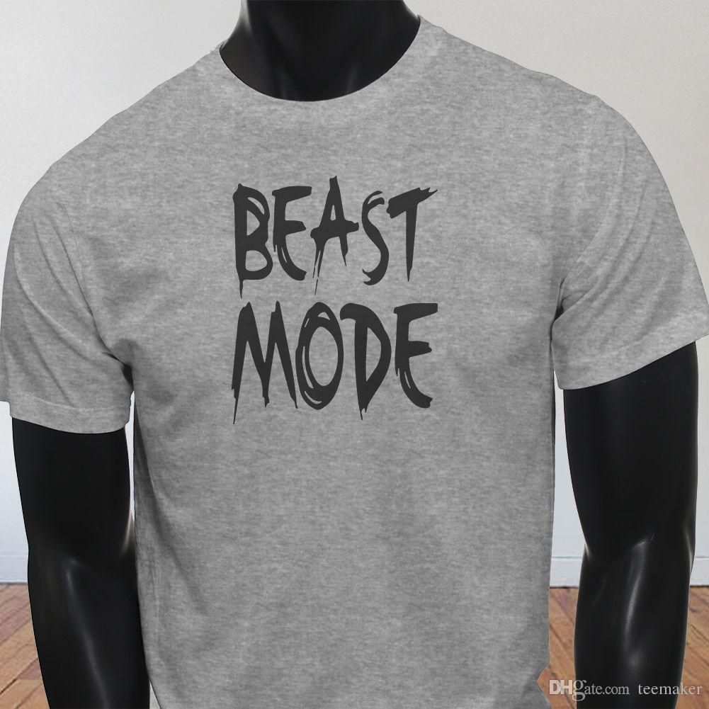 a31805682fcc1a Großhandel Gym Yoga Factory Outlet Tier Modus Herren Grau T Shirt T Shirt  Männer Hohe Qualität Kurzarm Crewneck Baumwolle Plus Größe Paar T Shirts  Von ...
