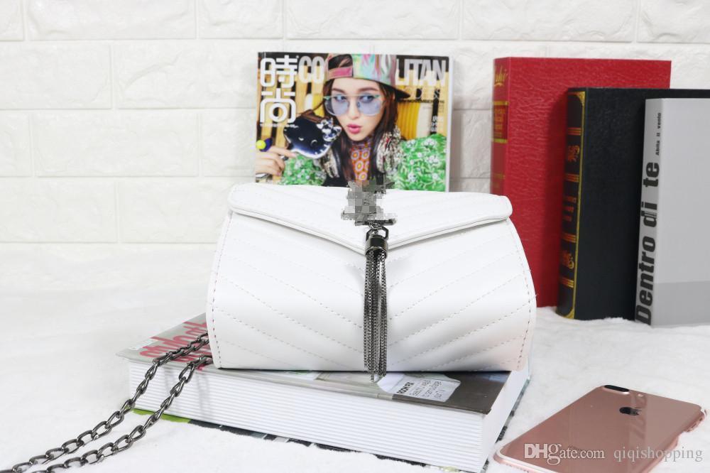Estilo de marca de moda las mujeres monedero monedero mensaje de calidad bolso Shouldbag tote size19 * 5 * 14 cm totalizador envío gratis