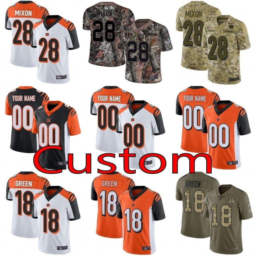 977a23ca2 Men Youth Women Cincinnati Bengals Custom 18 A.J. Green 28 Joe Mixon 94 Sam  Hubbard 55 Vontaze Burfict Realtree Camo Limited Jersey 01 A.J. Green Joe  Mixon ...