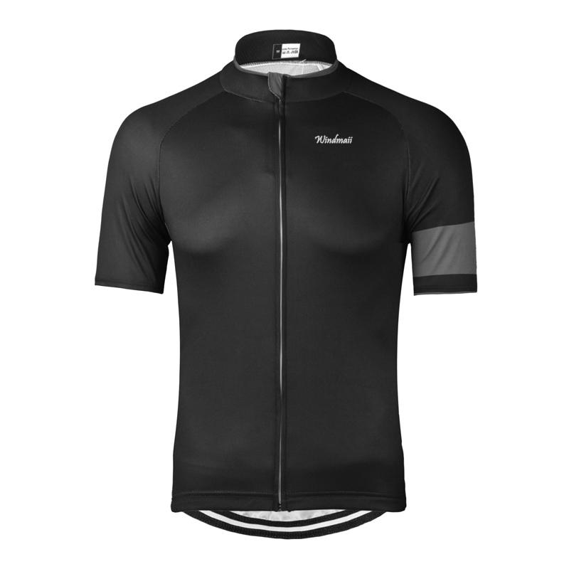 Black Cycling Jersey Bicicleta MTB Ropa Ciclismo Hombre Bicycle ... 64bd2a503