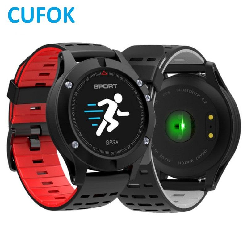 CUFOK F5 GPS Smart Watch Band Waterproof 4.2 Altimeter Barometer Smartwatch Thermometer Smartband for ios Android