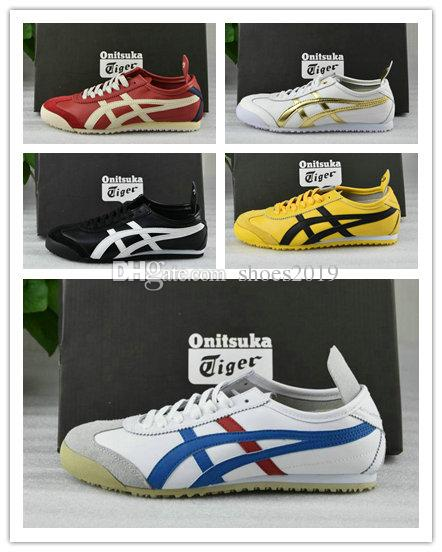 edcdf6453eef With Box Wholesale NEWAsics Onitsuka Womens Mens Tiger Running Shoes  Athletic New Color Sport Sneakers Shoes Eur 36 45 Athletic Shoes Shoes For  Men From ...