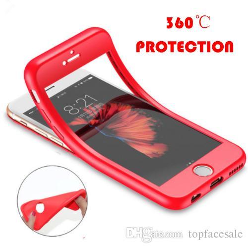 d4294fc73ee Todo Fundas Funda De Silicona Suave De 360 grados Para Tpu Para IPhone XS  Max XR 5 5s SE Funda Completa De Silicona Para IPhone X 7 8 6 6 S Más  Carcasa ...