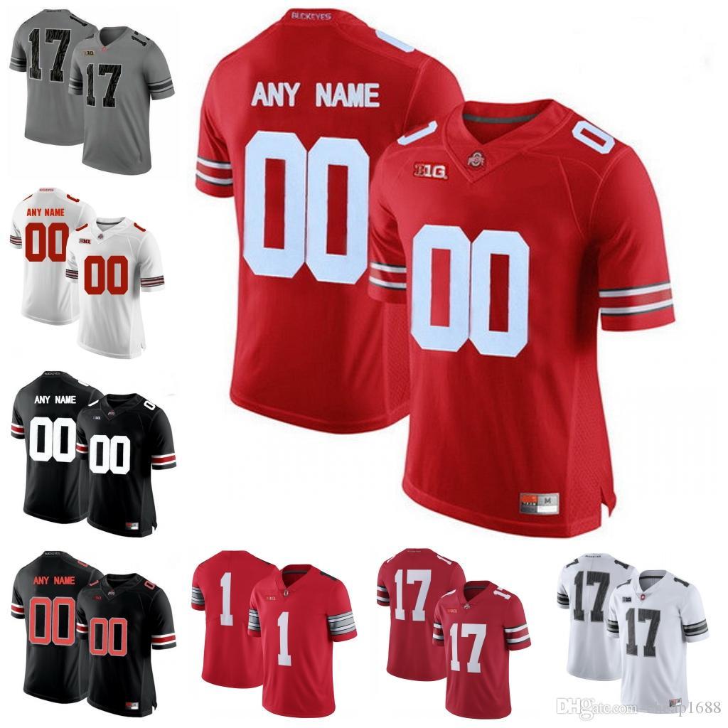 pretty nice 2e108 f4714 Ohio State Buckeyes #2 Ryan Shazier Chase Young Terrelle Pryor Marshon  Lattimore Malcolm Jenkins Cris Carter College Football Jerseys