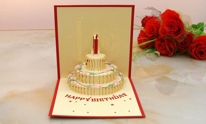 3d flocking paper greeting card foldable cake candle piano design 3d flocking paper greeting card foldable cake candle piano design for children adult girl birthday invitation party invitation greetings christmas cards m4hsunfo