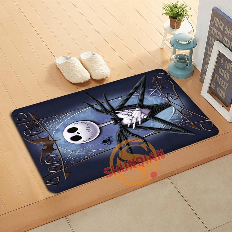 2018 custom the nightmare before christmas doormat bath mats foot pad home decor bathroom mats door mat floor mat a32050 from hopestar168 351 dhgate