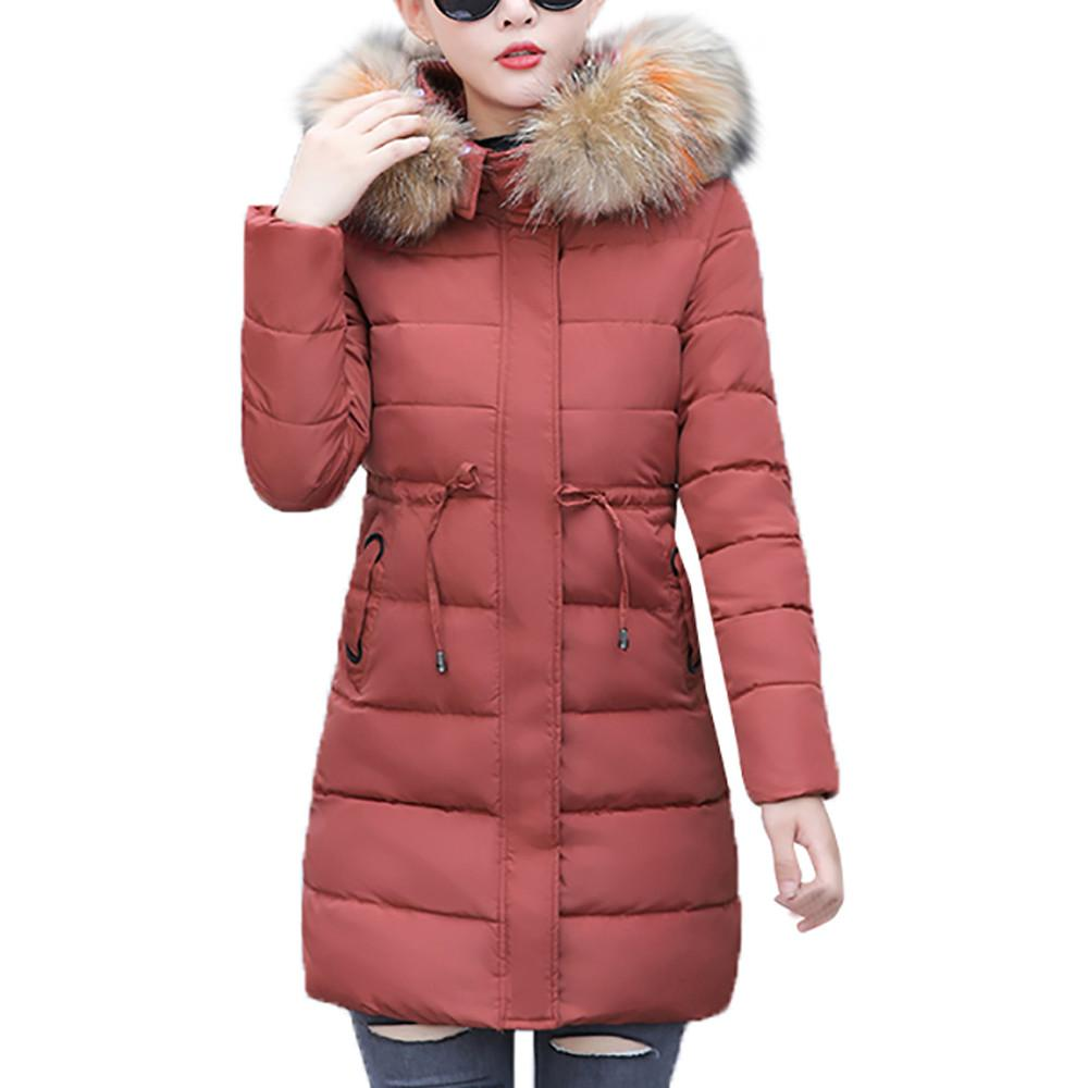795654c9d116 FeiTong Parka Winter Coat Women Jacket 2018 Winter Coat Faux Fur ...