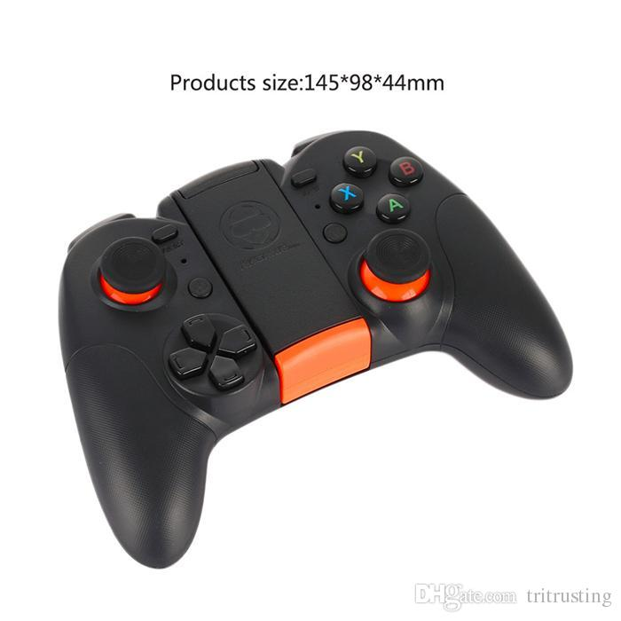 Hot RK Game 4th Bluetooth Gamepad Wireless 4.0 Joystick Dual Mode Support for IOS/For Android Game Controller Joypad MQ10