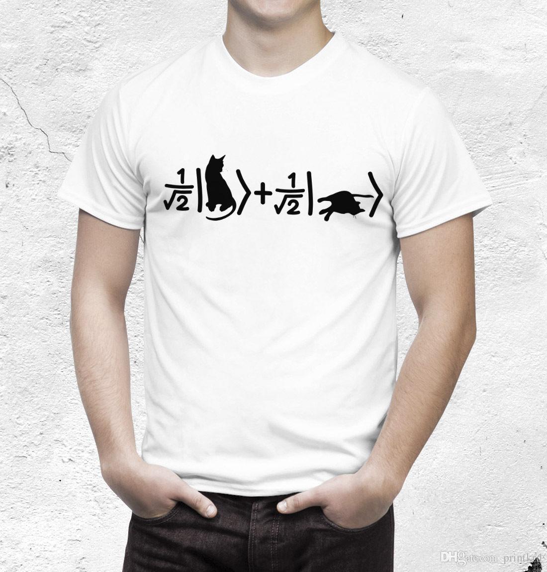 e4eb0ab6e Schrödinger'S Cat T Shirt Quantum Physics Tshirt Design Own T Shirt ...