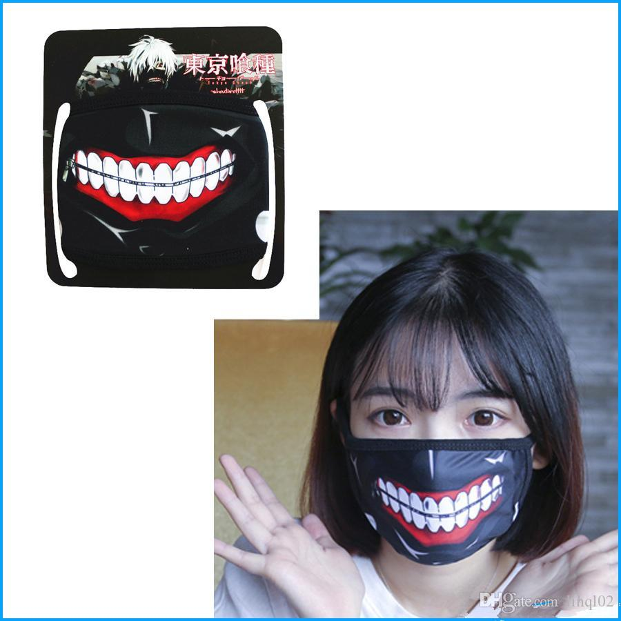 tokyo ghoul masque anti poussiere