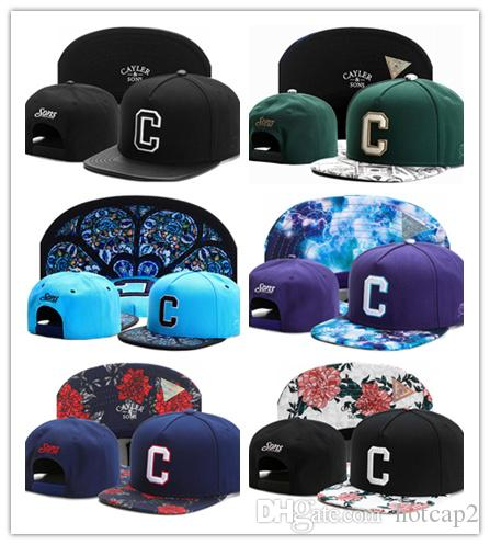 2e38044ff53 New Cayler   Sons Baseball Caps Brooklyn Embroidery Hats Snapback Caps  Adjustable Dad Hats For Men Bones Snapbacks Gorras Cap Cap Shop Flexfit Caps  From ...