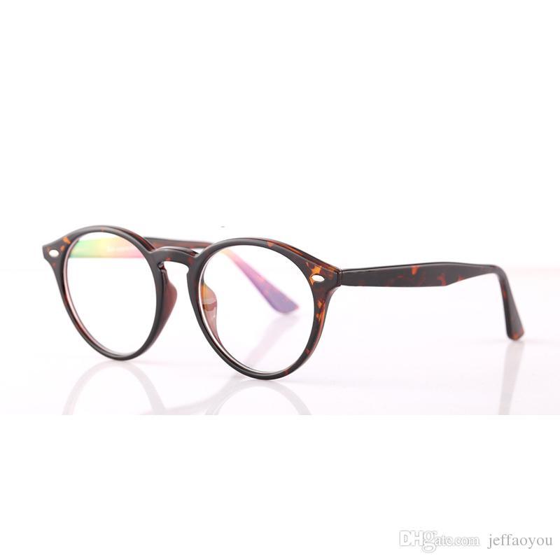 533162df2c6b84 Großhandel Heiße Optische Gläser Männer Brille Rahmen Optische  Brillenfassungen Marke Weibliche Klare Linse Brille Rahmen Frauen Retro Mode  Plain 51mm Von ...