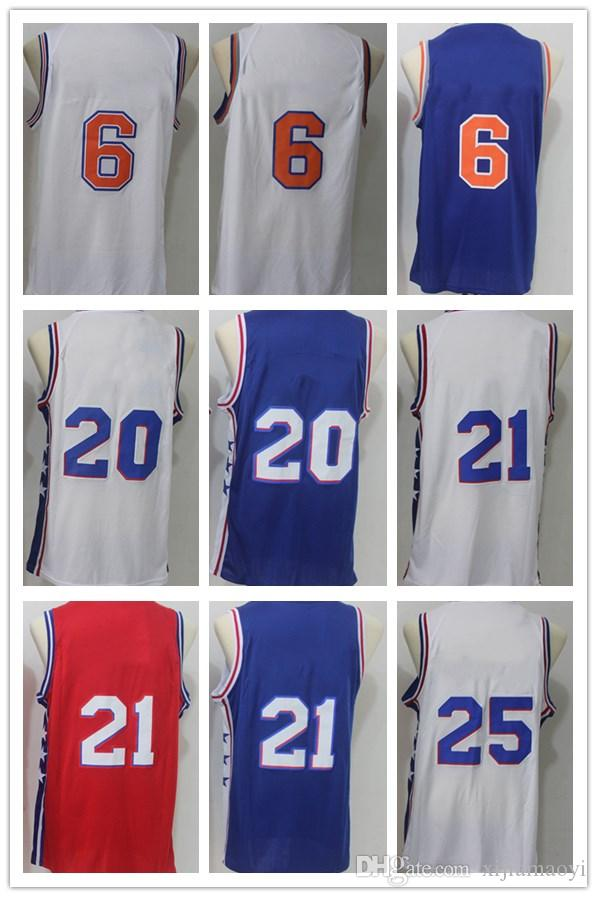 best authentic 33f96 6b49e closeout 10 walt frazier jersey island 8af5f 6ba9c