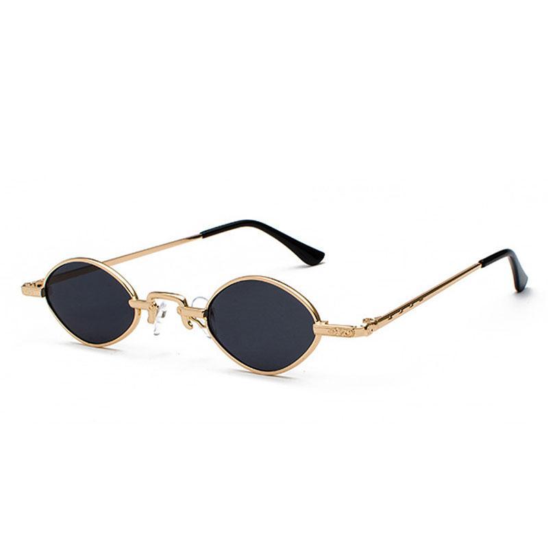 Fashion Design Small Frame Sunglasses Classic Women Oval Sun Glasses ...