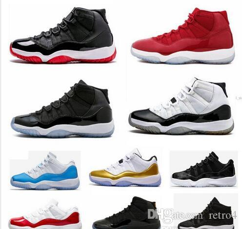 11 White Red Cap And Gown Gym Red Black Stingray Midnight Navy Bred Shoes  11s Mens Womens Basketball Shoes Sneaker Shoe Shoes For Men Athletic Shoes  From ... df6f1e379b3c