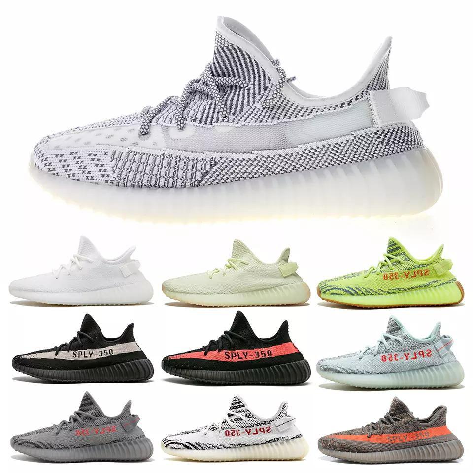 9ca9b0fe559c1 Top 350 V2 Running Shoes Mens Blue Tint Zebra Designer Seankers ...