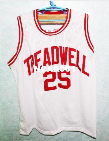 newest b4137 d3925 Color Red or White Men PENNY HARDAWAY #25 TREADWELL HIGH SCHOOL College  jersey Size S-4XL or custom any name or number jersey