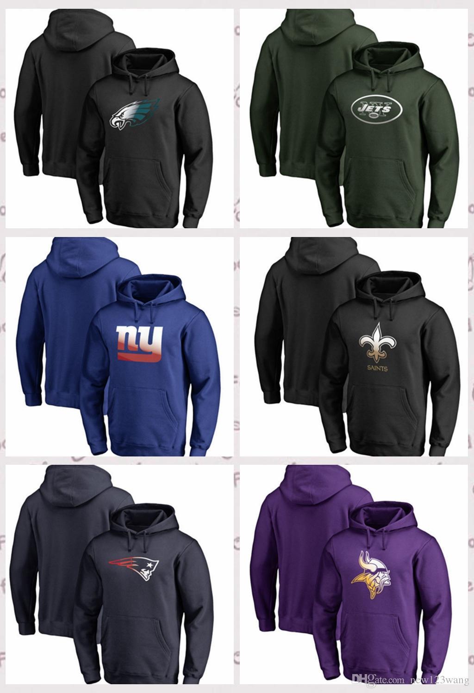 Philadelphia Eagles Minnesota Vikings New Orleans Saints New York Giants  Pro by Fanatics Branded Gradient Logo Pullover Hoodie Philadelphia Eagles  Minnesota ... 7af624e8e
